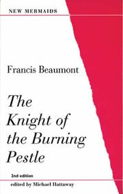 Cover of: Knight of the Burning Pestle