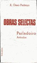 Cover of: Obras selectas