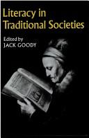 Cover of: Literacy in Traditional Societies