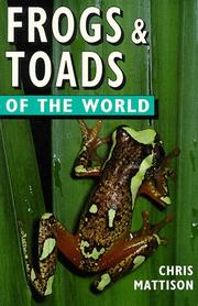 Cover of: Frogs & toads of the world