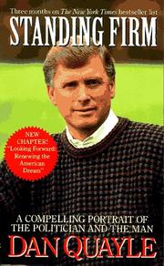 Cover of: Standing Firm | Dan Quayle