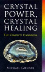 Cover of: Crystal power, crystal healing
