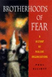 Cover of: Brotherhoods of fear