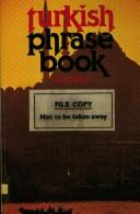 Turkish phrase book by Yusuf Mardin