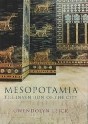 Cover of: Mesopotamia | Gwendolyn Leick