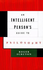 Cover of: An intelligent person