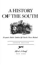 Cover of: A history of the South | Francis Butler Simkins