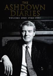 The Ashdown diaries by Paddy Ashdown