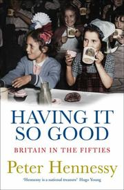 Cover of: Having It So Good