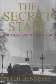 Cover of: The secret state