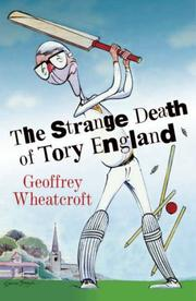 Cover of: The Strange Death of Tory England