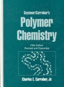 Cover of: Seymour/Carraher's polymer chemistry