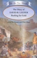 Cover of: The diary of David R. Leeper