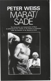 Cover of: Marat Sade
