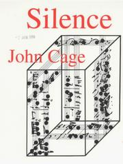 Silence by Cage, John.