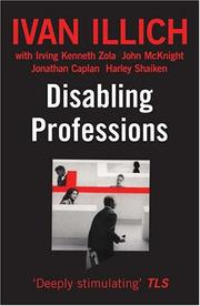 Cover of: Disabling Professions (Ideas in Progress)