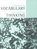 Cover of: Developing vocabulary for college thinking