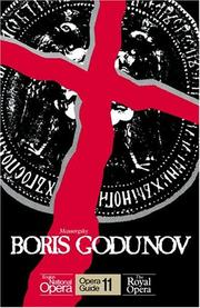 Cover of: Boris Godunov