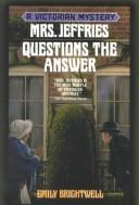 Cover of: Mrs. Jeffries questions the answer