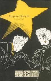 Cover of: Eugene Onegin. English National Opera Guide 38