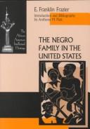 Cover of: The Negro family in the United States
