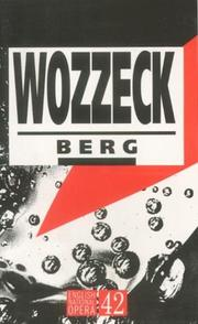 Cover of: Wozzeck