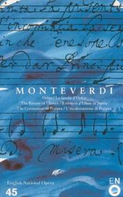 Cover of: The operas of Monteverdi