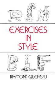 Cover of: Exercices de style