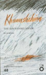 Cover of: Khovanshchina