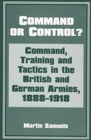 Cover of: Command or Control? | Dr Mart Samuels