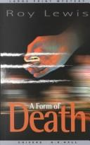Cover of: A form of death