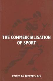 Cover of: The Commercialization of Sport (Sport in the Global Society)