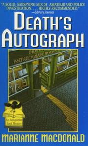 Cover of: Death's Autograph (Antiquarian Book Mysteries)