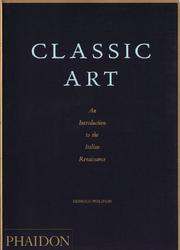Cover of: Classic art
