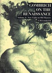 Cover of: New Light On Old Masters (Gombrich on the Renaissance)