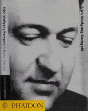 Cover of: Erich Wolfgang Korngold