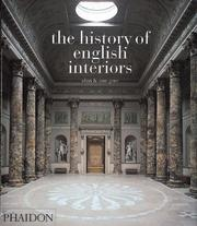 Cover of: The History of English Interiors | Anne Gore