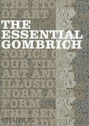 Cover of: The essential Gombrich | E. H. Gombrich