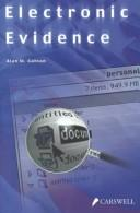 Cover of: Electronic evidence