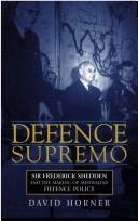 Cover of: Defence supremo