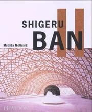 Cover of: Shigeru Ban