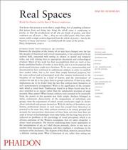 Cover of: Real spaces | David Summers
