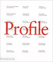 Cover of: Profile | Rick Poynor
