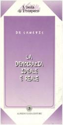 Cover of: La democrazia ideale e reale