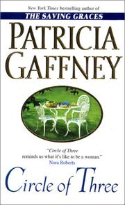 Cover of: Circle of three | Patricia Gaffney