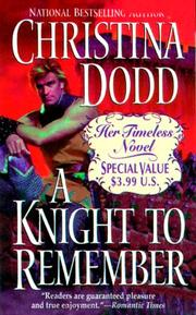 Cover of: A Knight to Remember