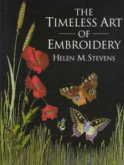 Cover of: The timeless art of embroidery