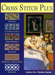 Cover of: Cross stitch plus