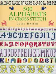 Cover of: 500 alphabets in cross stitch