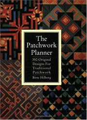 Cover of: The Patchwork Planner | Birte Hilberg
